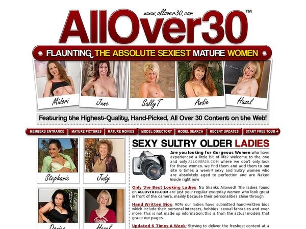 All Over 30 Original Get An Account